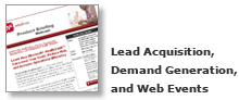 Lead Acquisition and Demand Creation