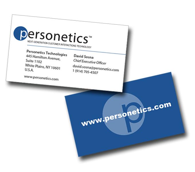 Personetics corporate Identity