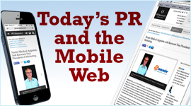 Public Relations in the Mobile Era